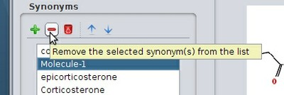 Remove a synonym